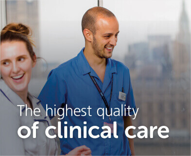 The highest quality of clinical care